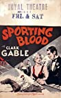 Sporting Blood (1931) Poster