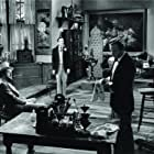 George Sanders, Lowell Gilmore, and Hurd Hatfield in The Picture of Dorian Gray (1945)