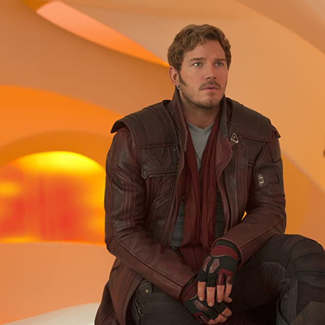 Chris Pratt and Zoe Saldana in Guardians of the Galaxy Vol. 2 (2017)