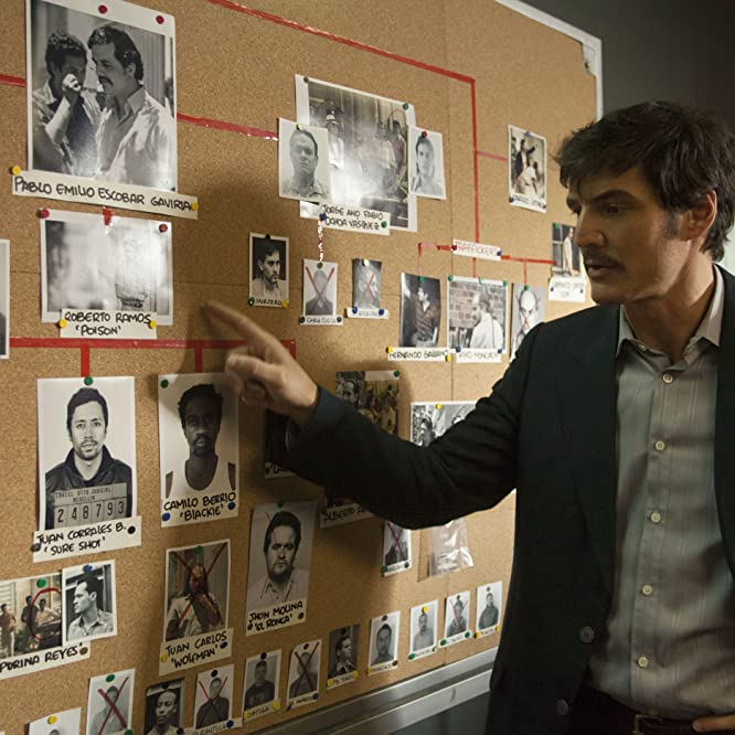 Pedro Pascal in Narcos (2015)