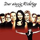 Rafael Edholm, Søs Egelind, Sofie Gråbøl, Lars Kaalund, Sidse Babett Knudsen, Niels Olsen, and Paprika Steen in Den eneste ene (1999)