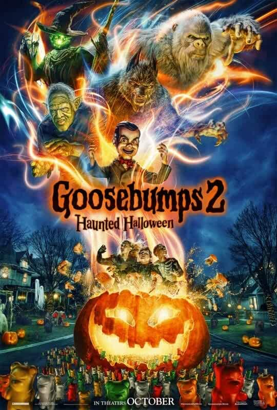 Watch Goosebumps 2: Haunted Halloween (2018) HDRip Hindi Full Movie Online Free