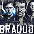 Jean-Hugues Anglade, Nicolas Duvauchelle, Joseph Malerba, and Karole Rocher in Braquo (2009)