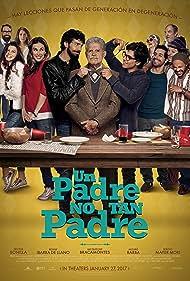 Héctor Bonilla, Benny Ibarra, Jacqueline Bracamontes, and Sergio Mayer Mori in Un Padre No Tan Padre (2016)