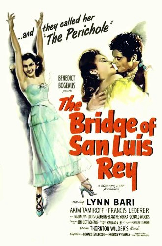 Lynn Bari, Francis Lederer, and Alla Nazimova in The Bridge of San Luis Rey (1944)