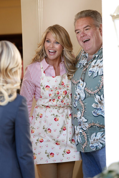 Christie Brinkley and Jim O'Heir in Parks and Recreation (2009)