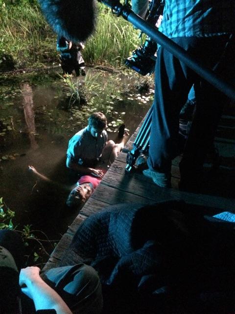 """On set of """" Swamp Murders"""" Murder of the Medic Season 3 Episode 9"""