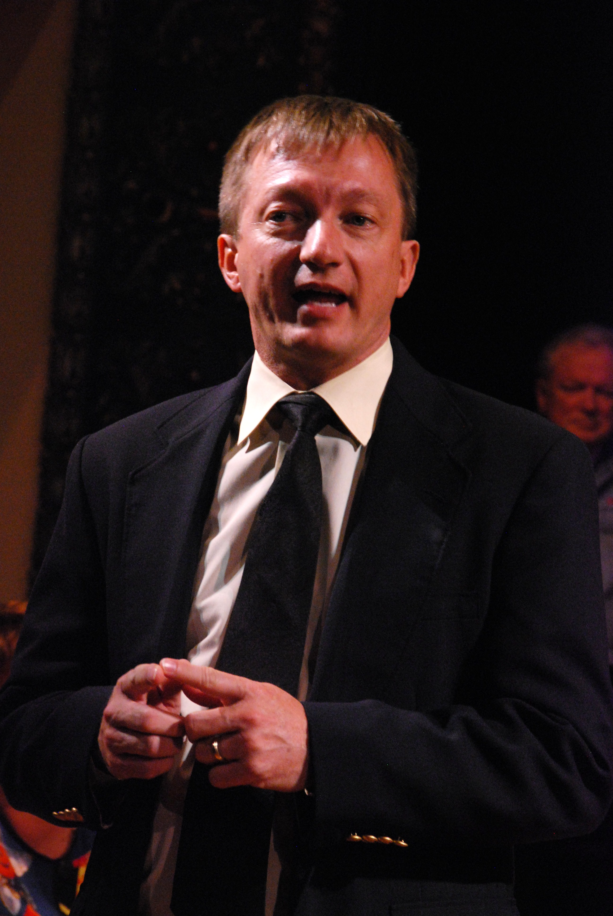 """KB as Doug Laws in """"The Laramie Project."""""""