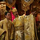 Chow Yun-Fat and Junjie Qin in Man cheng jin dai huang jin jia (2006)