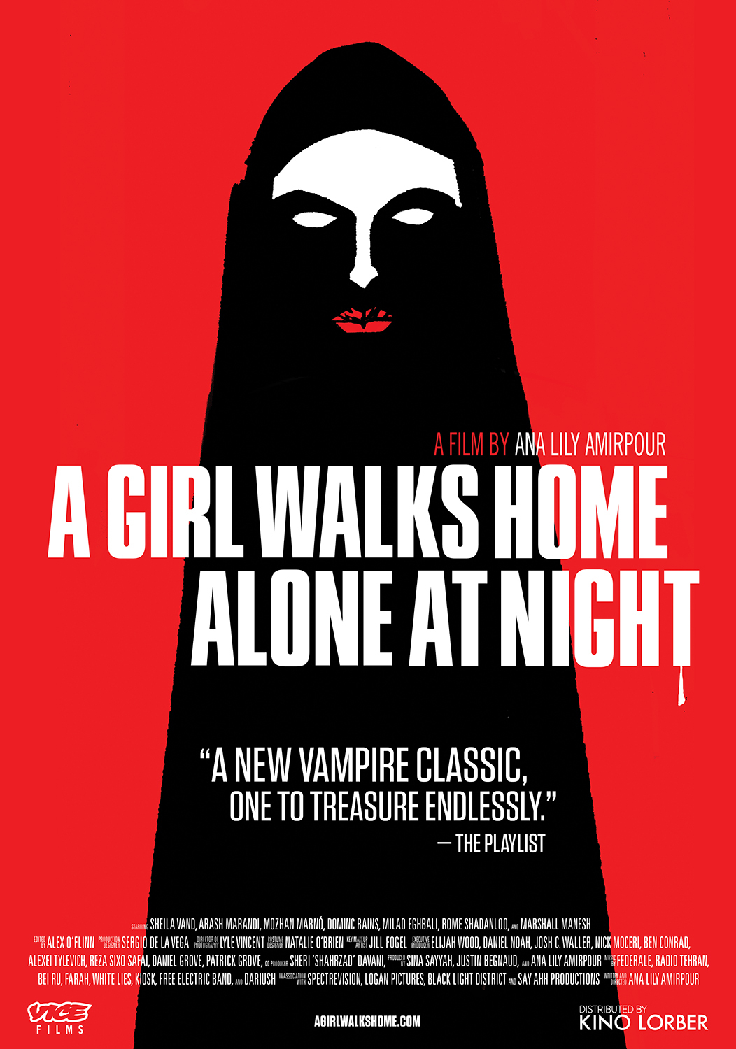 A Girl Walks Home Alone at Night (2014) - IMDb