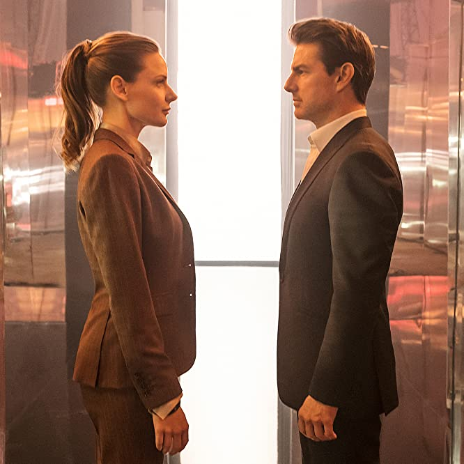 Tom Cruise and Rebecca Ferguson in Mission: Impossible - Fallout (2018)