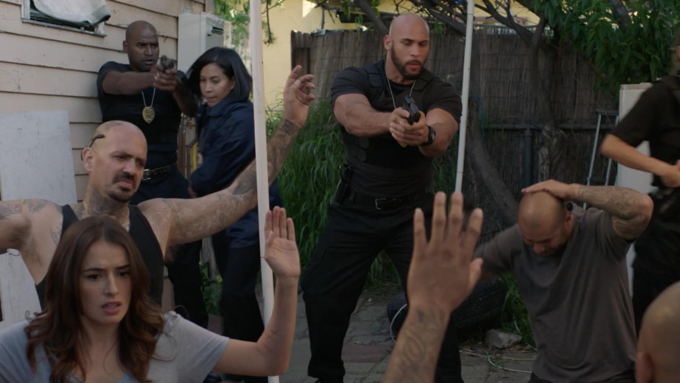 Jason Scott Jenkins in East Los High (2013)