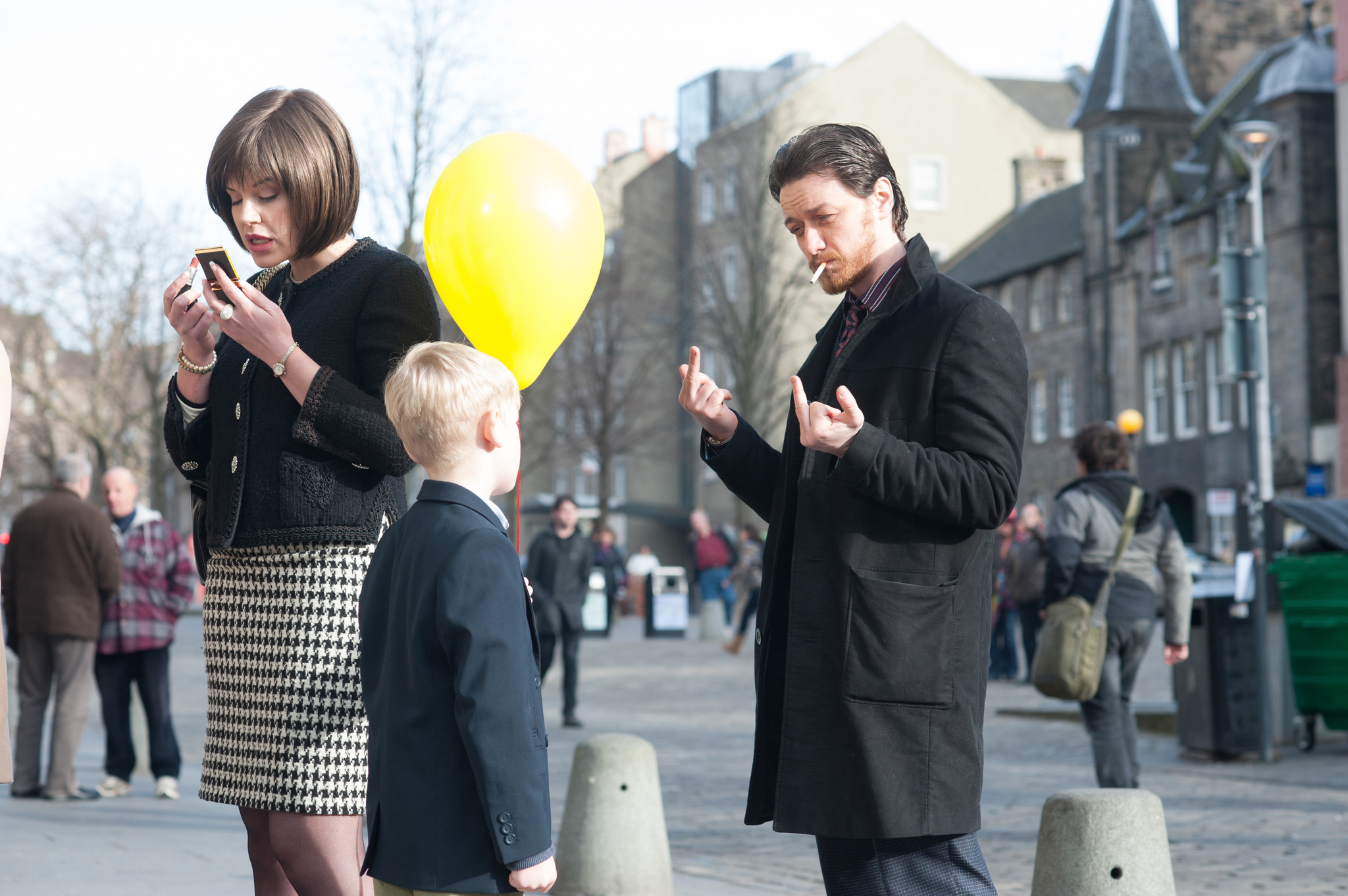 James McAvoy and Jamie Wallace in Filth (2013)