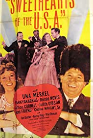 Lillian Cornell, Teala Loring, Henry King, Donald Novis, Harry Parke, and Henry King's Orchestra in Sweethearts of the U.S.A. (1944)