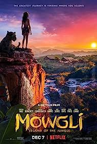 Christian Bale and Rohan Chand in Mowgli (2018)