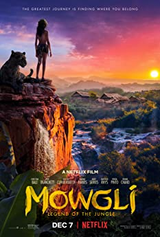 Christian Bale and Rohan Chand in Mowgli: Legend of the Jungle (2018)