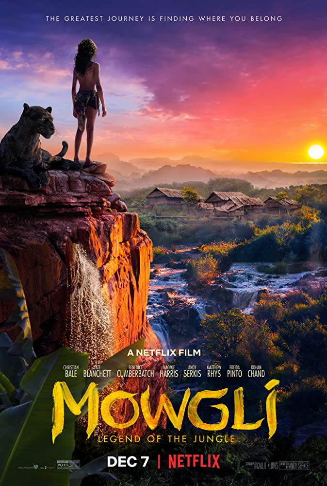 Christian Bale and Rohan Chand in Mowgli (2018)