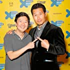 Daniel Dae Kim and Ken Jeong at an event for Ktown Cowboys (2015)