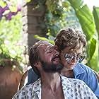 Ralph Fiennes and Tilda Swinton in A Bigger Splash (2015)