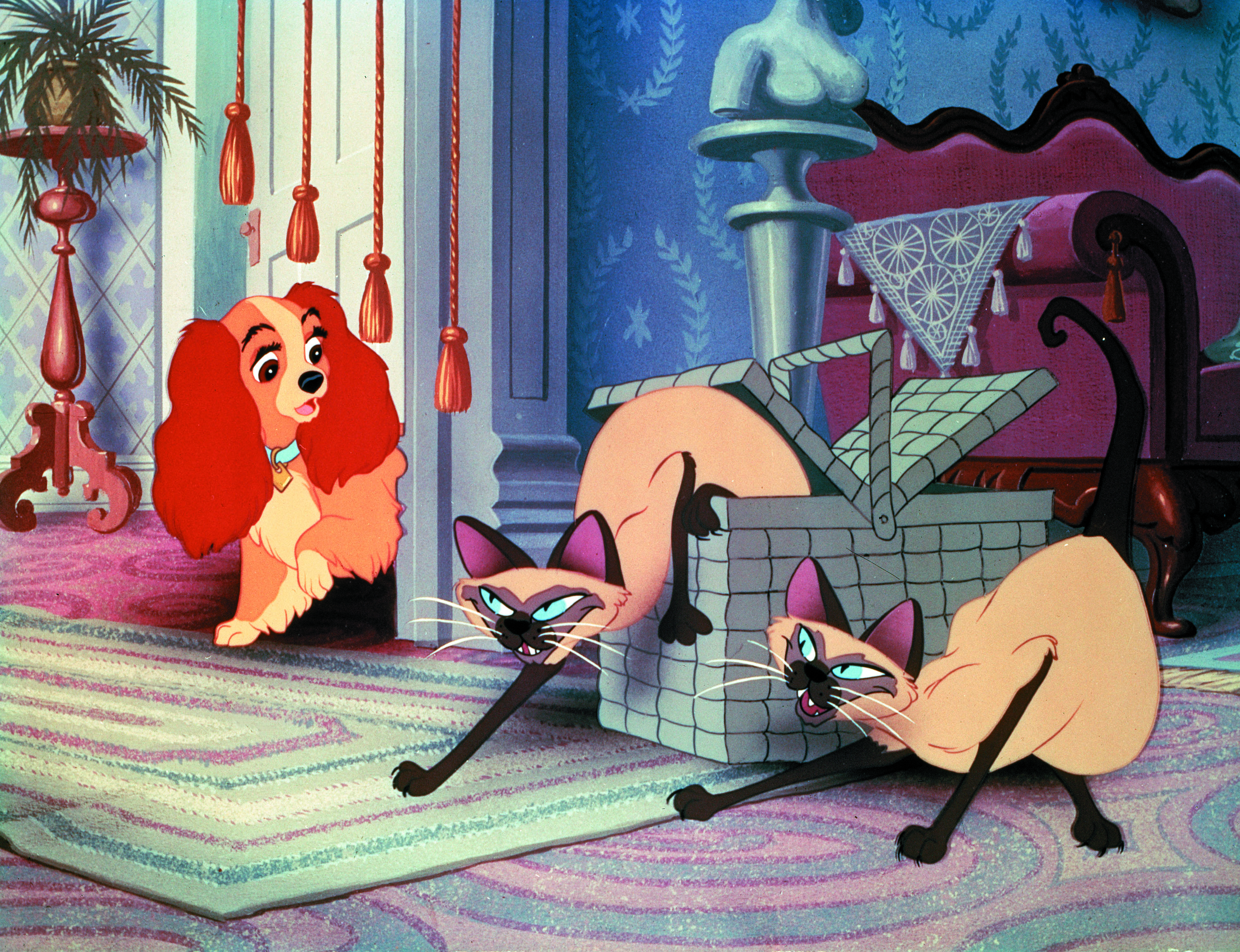 Peggy Lee and Barbara Luddy in Lady and the Tramp (1955)