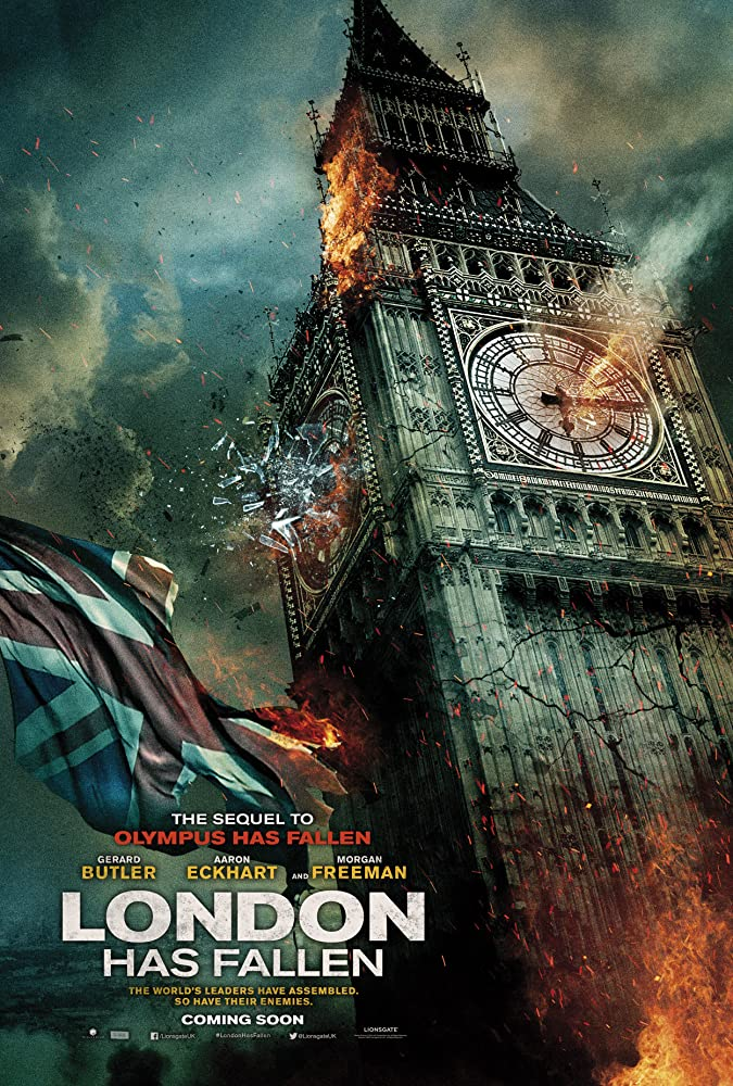Poster Film London Has Fallen