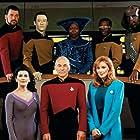 Whoopi Goldberg, Michael Dorn, Jonathan Frakes, Gates McFadden, Marina Sirtis, Brent Spiner, LeVar Burton, and Patrick Stewart in Star Trek: The Next Generation (1987)
