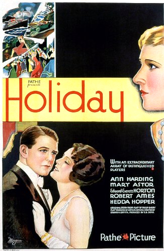 Mary Astor, Robert Ames, and Ann Harding in Holiday (1930)