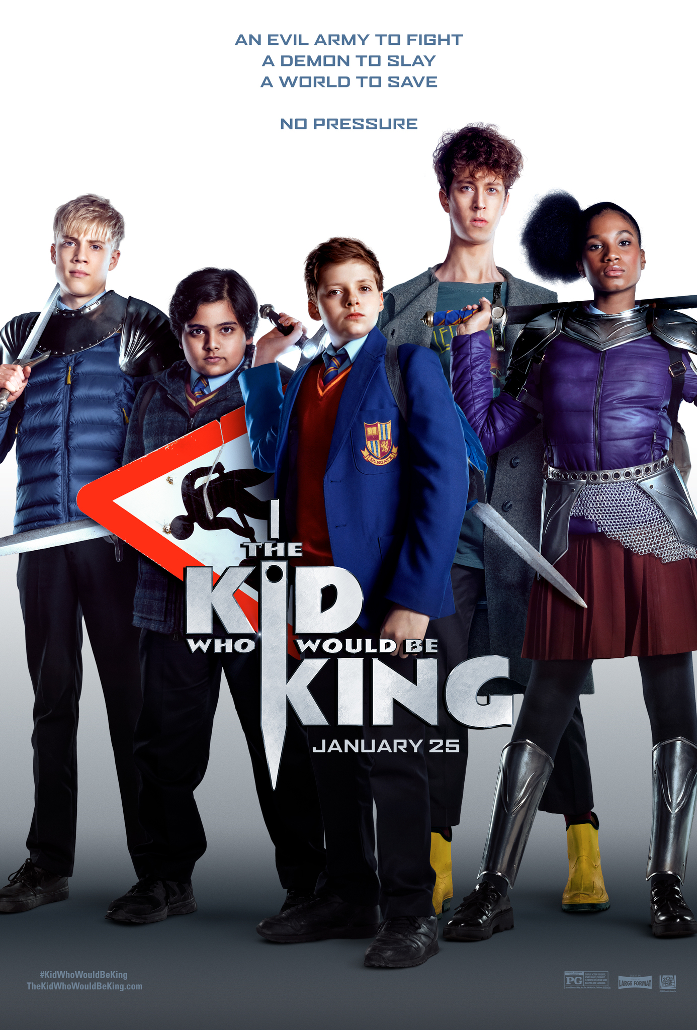 Download The Kid Who Would Be King (2019) HDRip x264 Dual Audio [Hindi (5 Torrent