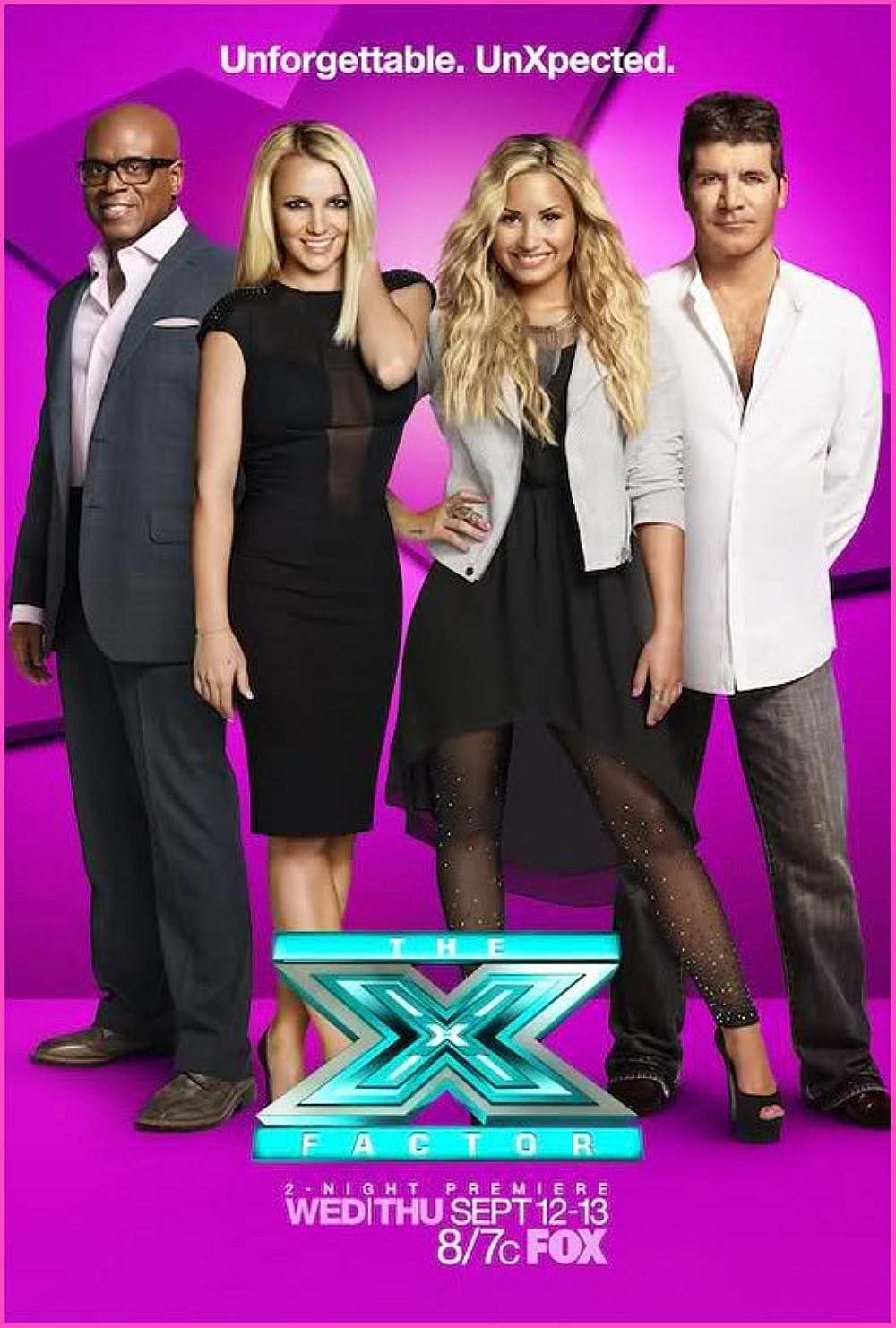 X factor judges 2012 names