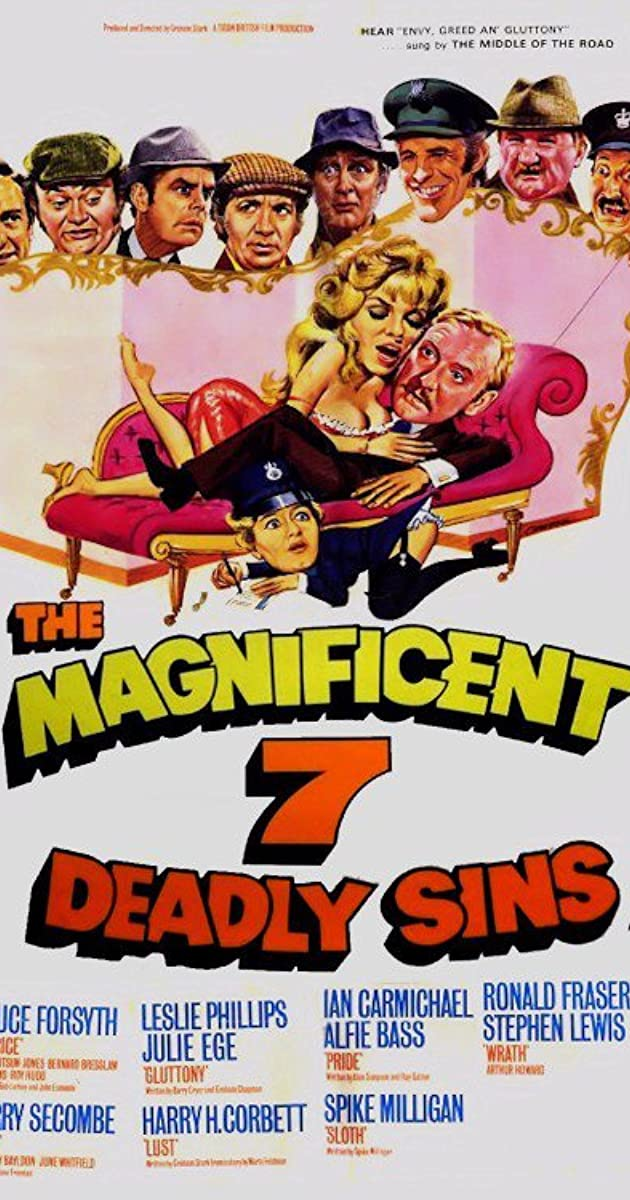 Subtitle of The Magnificent Seven Deadly Sins