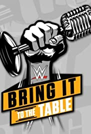 WWE: Bring It to the Table Poster
