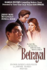 Betrayal (1983) Poster - Movie Forum, Cast, Reviews
