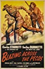 Blazing Across the Pecos (1948) Poster