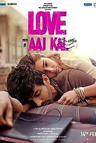 Kartik Aaryan and Sara Ali Khan in Love Aaj Kal (2020)