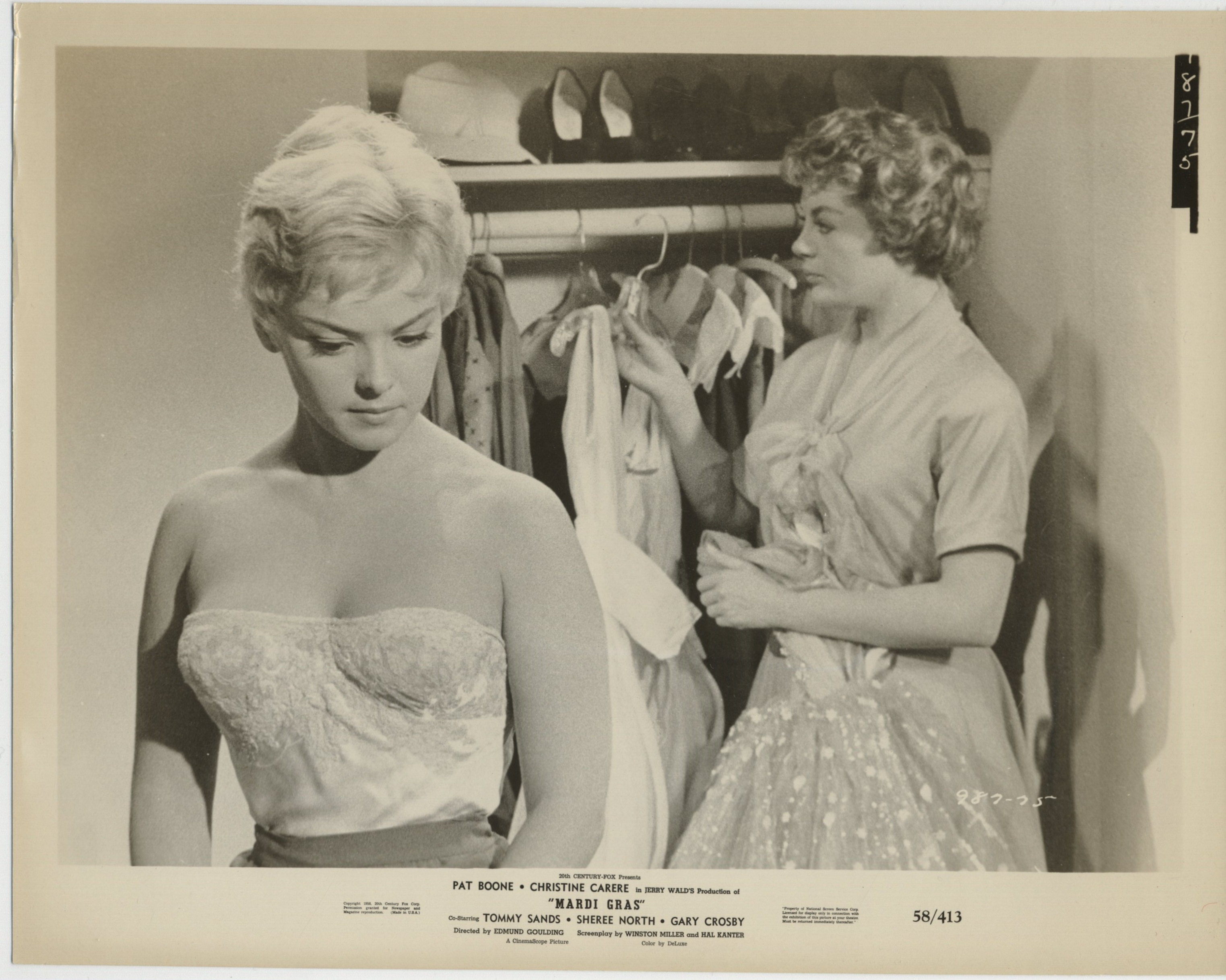 Christine Carère and Sheree North in Mardi Gras (1958)
