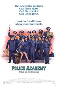 Kim Cattrall, Steve Guttenberg, G.W. Bailey, Leslie Easterbrook, George Gaynes, David Graf, Marion Ramsey, Andrew Rubin, Donovan Scott, and Bubba Smith in Police Academy (1984)