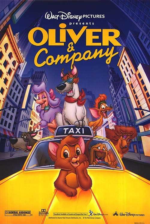 Oliver & Company (1988) Hindi Dubbed