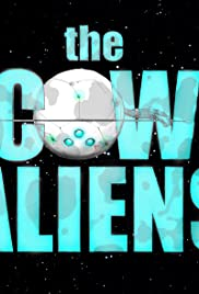The Cow Aliens Poster