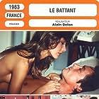 Alain Delon, Anne Parillaud, Richard Anconina, Pierre Mondy, and François Périer in Le battant (1983)