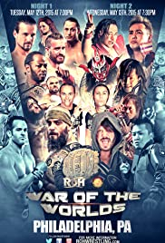 Ring of Honor War of the Worlds 2015 Poster