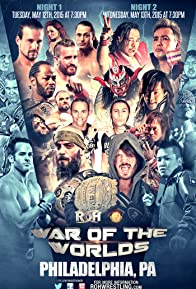 Primary photo for Ring of Honor War of the Worlds 2015