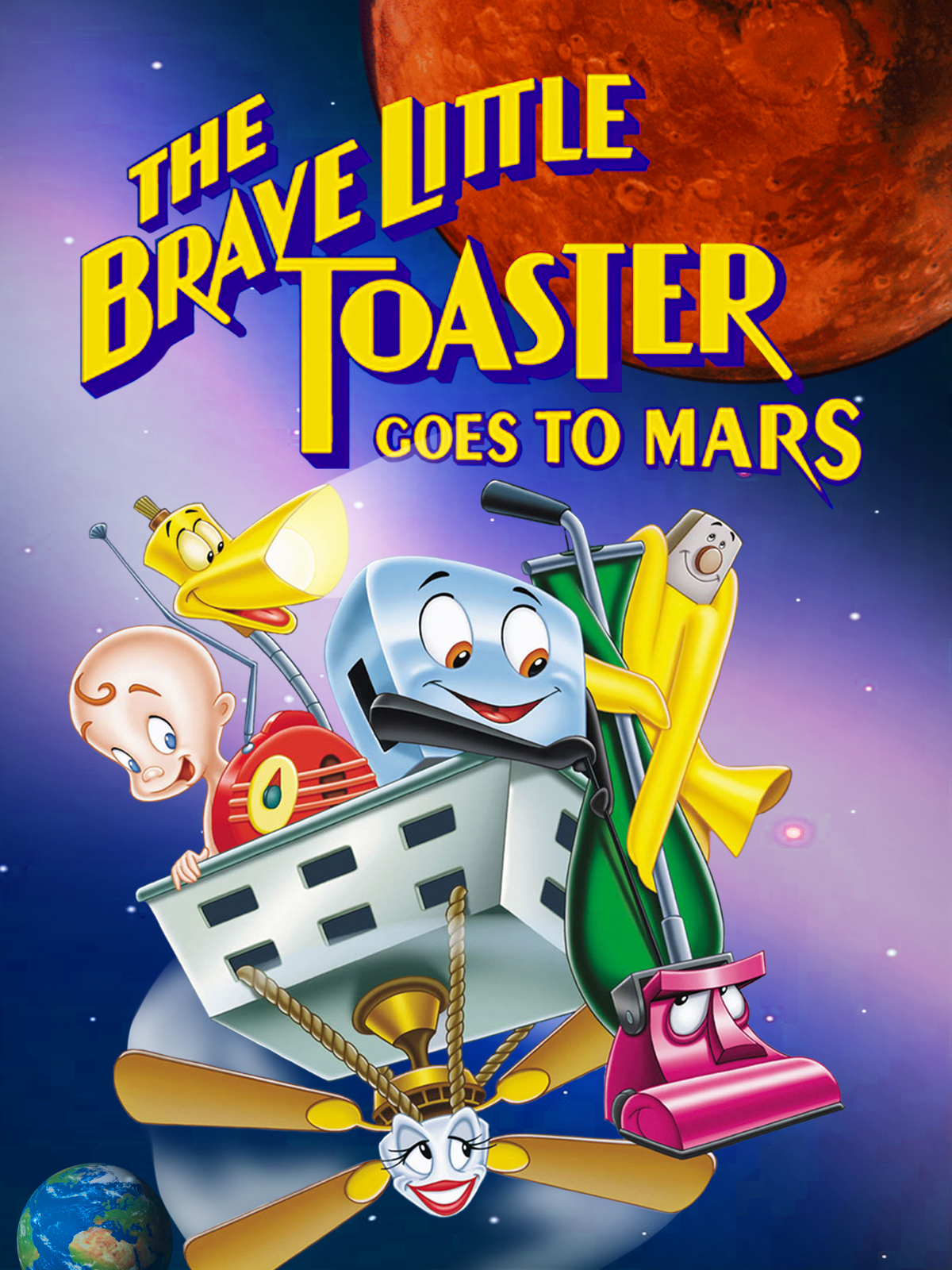 The Brave Little Toaster Goes to Mars (Video 1998) - IMDb