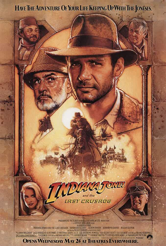 Indiana Jones and the Last Crusade (1989) in Hindi