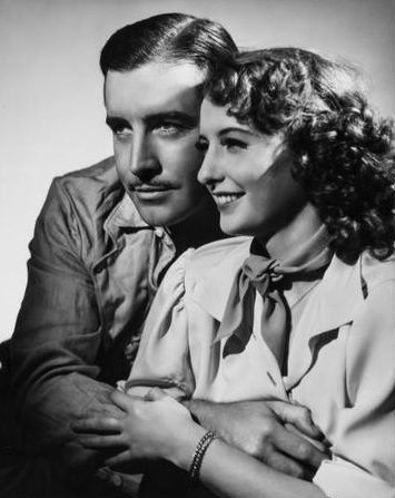 Barbara Stanwyck and John Boles in A Message to Garcia (1936)