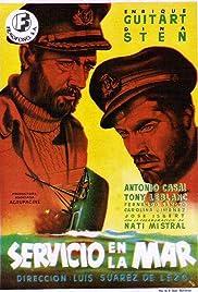 Servicio en la mar Poster