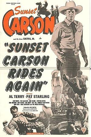Where to stream Sunset Carson Rides Again