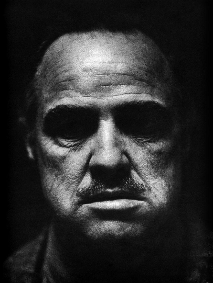 Marlon Brando in The Godfather (1972)