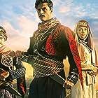 Cemal Hünal, Gökhan Keser, and Ceren Kaplakarslan in Atçali Kel Mehmet (2017)