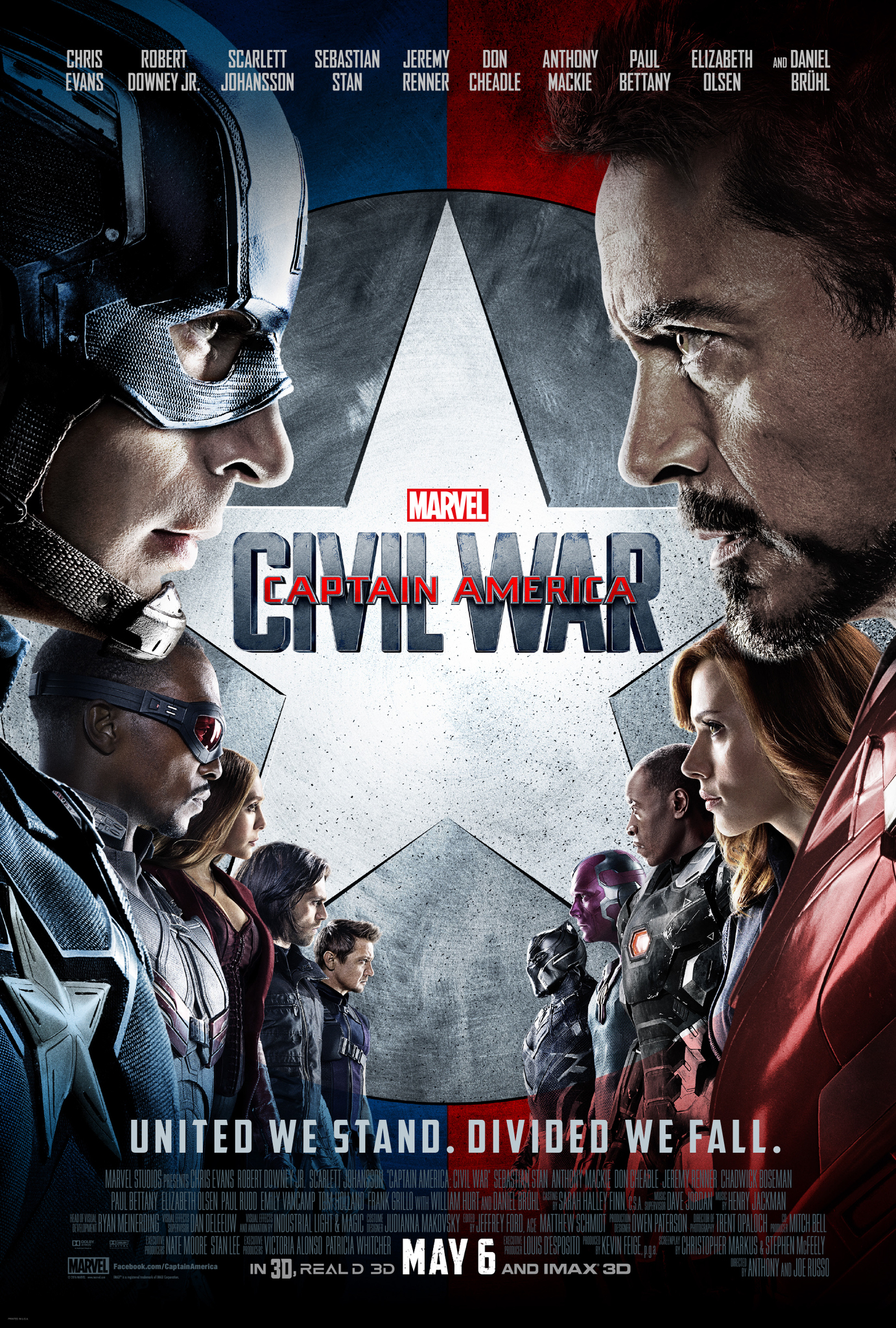 CHOOSE YOUR SIZE Captain America Poster Civil War 2016 Marvel Iron Man FREE P+P