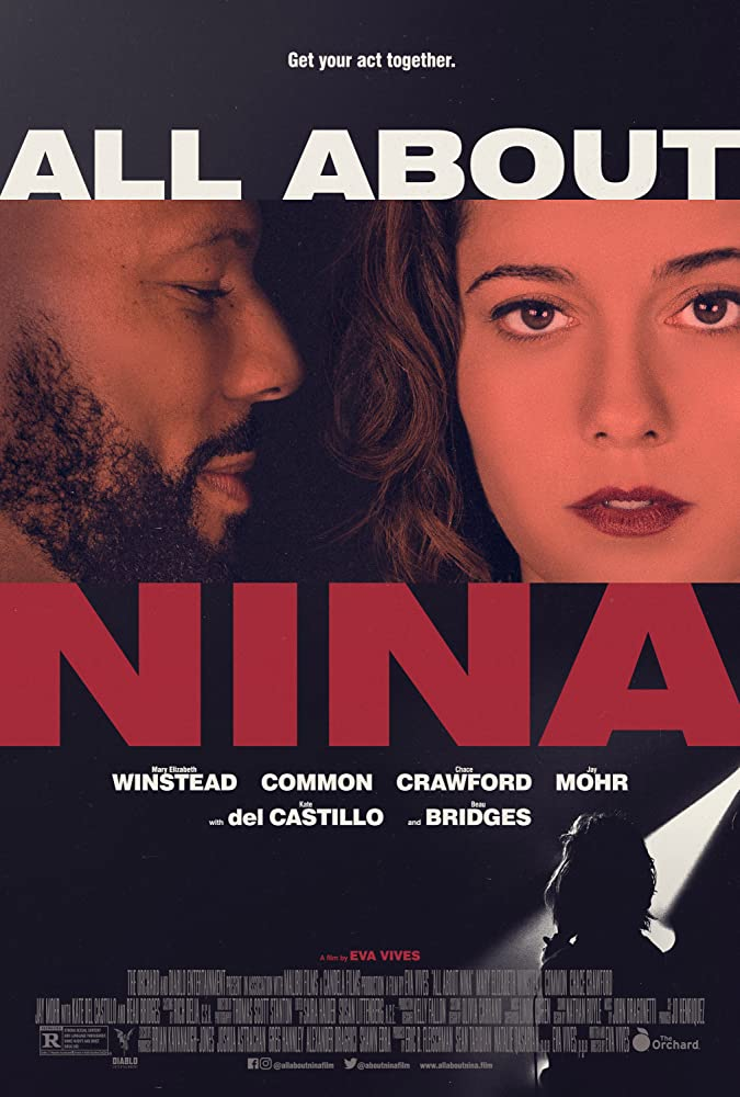 Mary Elizabeth Winstead and Common in All About Nina (2018)